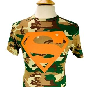 Under Armour Heatgear Compression Shirt Superman